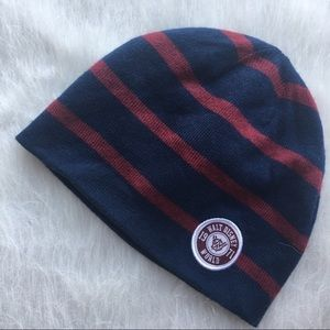 Walt Disney World 1971 striped knit beanie cap hat
